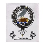 Badge - Clelland Throw Blanket