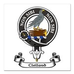 Badge - Clelland Square Car Magnet 3