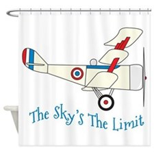 The Skys The Limit Shower Curtain