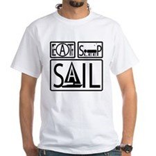 Eat Sleep Sail Mens Shirt