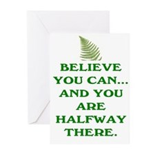 YOU ARE HALFWAY THERE! Greeting Cards (Pk of 20)