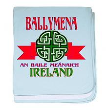 Ballymena, Ireland baby blanket