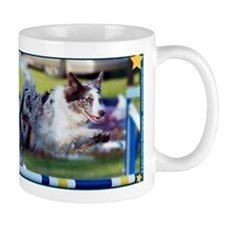 My Agility Star Border Collie Small Coffee Mug