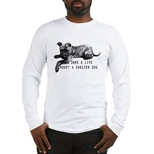Save a Life Long Sleeve T-Shirt