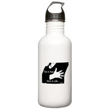 Cop a Feel Save a Life Water Bottle