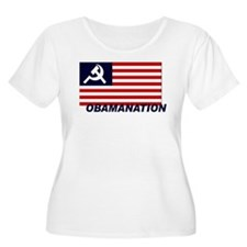 Obamanation Plus Size T-Shirt
