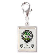 Badge - Burnett Silver Portrait Charm