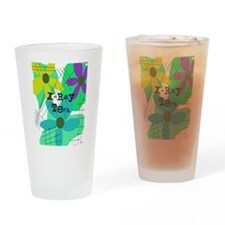 xray tech 8 Drinking Glass