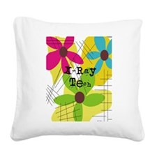 xray tech 7 Square Canvas Pillow