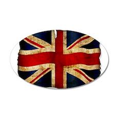 Union Jack Wandtattoo