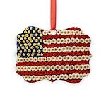 Flower Power US Banner Ornament