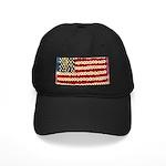 Flower Power US Banner Baseball Hat