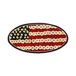 Flower Power US Banner Patches