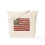 Flower Power US Banner Tote Bag