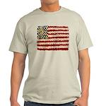 Flower Power US Banner T-Shirt