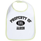Property of Aaron Bib