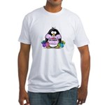 Love To Shop Penguin Fitted T-Shirt