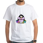 Love To Shop Penguin White T-Shirt