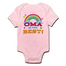 Oma Is The Best Infant Bodysuit