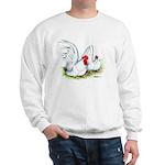 White Japanese Bantams Sweatshirt