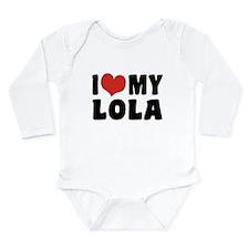 I Love My Lola Long Sleeve Infant Bodysuit