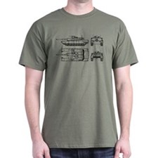 M1-A1 - Main Battle Tank - T-Shirt