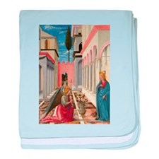 Fra Carnevale - The Annunciation baby blanket