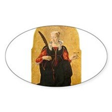 Francesco del Cossa - Saint Lucy Decal