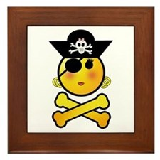 Pirate Day Framed Tile