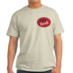 Ash Grey 99Rock T-Shirt