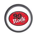 99 Rock Wall Clock