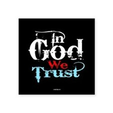 In God We Trust! Sticker