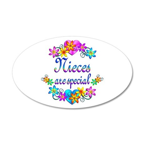 Nieces are Special 20x12 Oval Wall Decal