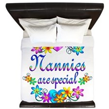 Nannies are Special King Duvet