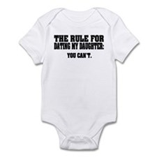 Rule For Dating My Daughter: Infant Bodysuit