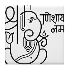 Ganesh Ganesa Ganapati 05_1c Tile Coaster
