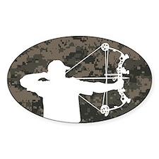 Bow Hunter (camo version) Decal