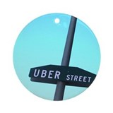 Uber Street Holiday Ornament (Round)