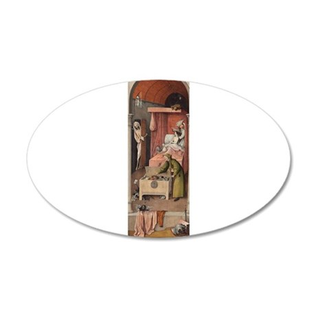 Hieronymus Bosch - Death and the Miser Wall Decal