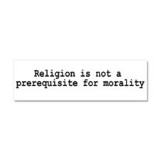 Cute Anti christian Car Magnet 10 x 3