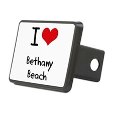 I Love BETHANY BEACH Hitch Cover