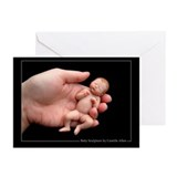 """Jaden"" 5X7 Greeting Cards (Blank,Pk of 10)"