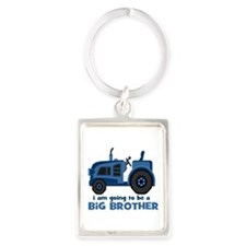 I am Going to be a Big Brother Keychains
