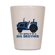 I am Going to be a Big Brother Shot Glass