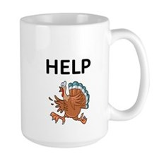 HELP WITH TURKEY Mug