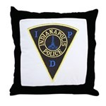 Indianapolis Police Throw Pillow
