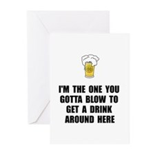 Blow Drink Greeting Cards (Pk of 10)