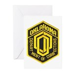Oklahoma Corrections Greeting Cards (Pk of 10)