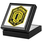 Oklahoma Corrections Keepsake Box