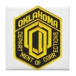 Oklahoma Corrections Tile Coaster